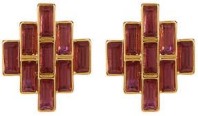 Carolee Baguette Stud Earrings