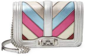 Rebecca Minkoff Women's Patchwork Small Love Crossbody Leather Bag - MULTI - STYLE
