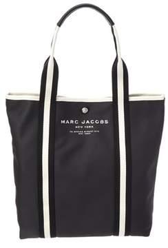 Marc Jacobs Canvas Shopper. - BLACK - STYLE