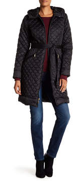 Ellen Tracy Walker Quilted Down Jacket