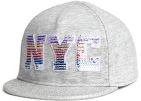 H&M Cap with Motif - Gray