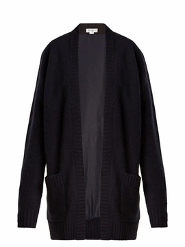 Amanda Wakeley The Larson contrast-back cashmere cardigan