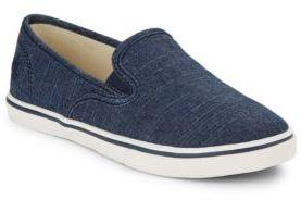 Lauren Ralph Lauren Janis Slip-On Chambray Sneakers