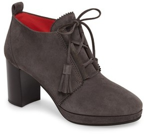 Pas De Rouge Women's Lace-Up Platform Bootie