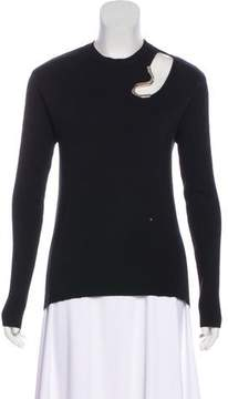 Esteban Cortazar Virgin Wool & Silk-Blend Sweater