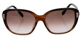 Chloé Tortoiseshell Gradient Sunglasses