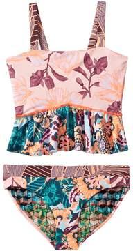 Maaji Kids Rose of the Desert Tankini Set Girl's Swimwear Sets