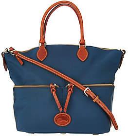 Dooney & Bourke As Is Nylon Large Pocket Satchel Handbag - ONE COLOR - STYLE