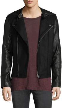 IRO Men's Haston Leather Biker Jacket