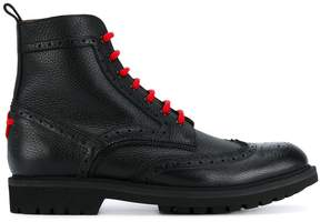 Givenchy brogue detail ankle boots