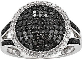 Black Diamond FINE JEWELRY 3/4 CT. T.W. White and Color-Enhanced Dome Ring