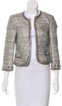 Flavio Castellani Metallic Embellished Jacket w/ Tags