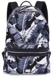 Dolce & Gabbana Palm Leave-Printed Backpack