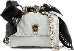 Ermanno Scervino Scarf Embellished Mini Shoulder Bag