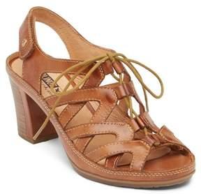 PIKOLINOS Java Block Leather Heel Sandal
