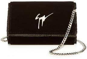 Giuseppe Zanotti Velvet Chain Wallet