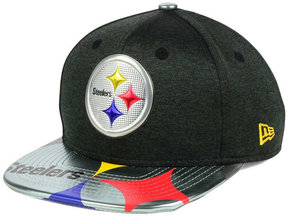 New Era Boys' Pittsburgh Steelers 2017 Draft 9FIFTY Snapback Cap