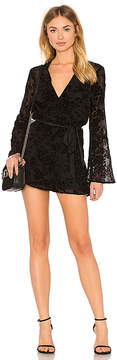 BCBGeneration Bell Sleeve Lace Romper