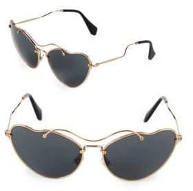 Miu Miu 65MM Butterfly Sunglasses