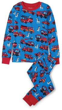 Hatley Boy's Fire Trucks Pajama Set