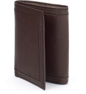 Levi's Brown Leather Trifold Wallet - Men