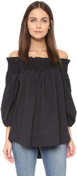 Caroline Constas Lou Off Shoulder Blouse