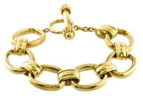 Elizabeth Locke Oval Link Bracelet