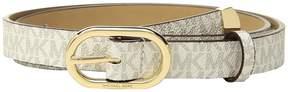 MICHAEL Michael Kors Logo PVC Belt Women's Belts