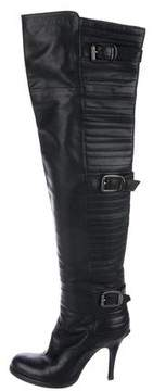 Barneys New York Barney's New York Leather Over-The-Knee Boots