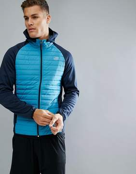 Jack and Jones Tech Quilted Training Jacket