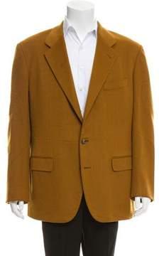 Luciano Barbera Wool Two-Button Blazer
