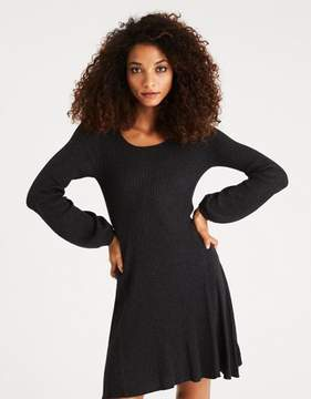 American Eagle Outfitters AE Ahh-Mazingly Soft Puff-Sleeve Sweater Dress