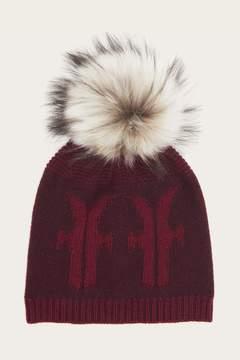 Frye | Logo Pom Hat | Wine