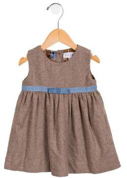 Rachel Riley Girls' Flared Wool-Blend Dress