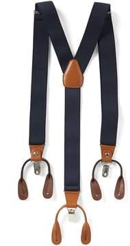 Roundtree & Yorke Pin Stripe Suspenders