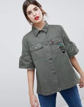 Esprit Utility Short Sleeved Jacket