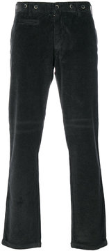 Barena ribbed fitted trousers