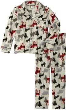 Petit Lem Boys' 2Pc Pajama Pant Set