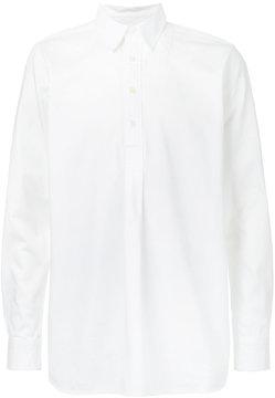 Kent & Curwen half placket shirt
