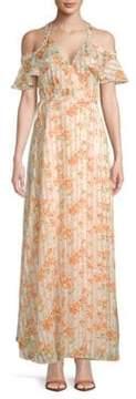 Privacy Please Acme Floral Maxi Dress