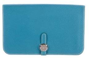 Hermes Togo Dogon Combined Wallet - BLUE - STYLE