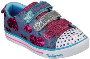 Skechers Sparkle Lite Girls Walking Shoes