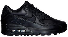 Nike Boys' Grade School Air Max 90 Leather Running Shoes