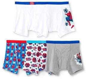Spiderman Boys' 5pk Boxer Briefs