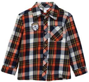 Petit Lem Woven Shirt (Toddler & Little Boys)