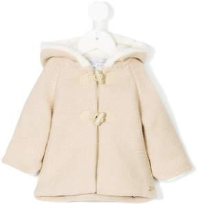 Tartine et Chocolat hooded duffle coat
