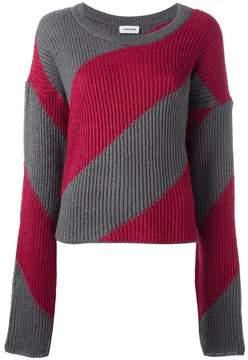 Au Jour Le Jour elongated sleeve jumper