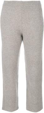 Joseph cropped knitted trousers