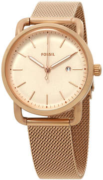 Fossil The Commuter Rose Dial Ladies Watch