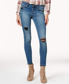 Articles of Society Sara Released-Hem Distressed Skinny Jeans